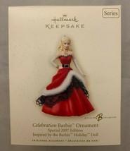 Hallmark Keepsake Ornament Celebration Barbie Special 2007 Edition Holid... - $10.75
