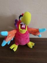 "Disney Aladdin Villain Lago Jafar Parrot Bird 10"" Plush Stuffed - $13.09"