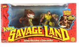 X-Men Savage Land Wolverine with Crawler Rex Action Figure Marvel ToyBiz... - $22.72