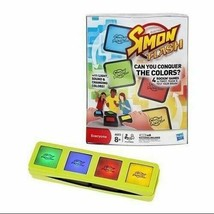 Electronic Simon Flash Game w/Light, Sound, Changing Colors!