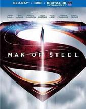 Man of Steel (Blu-ray/DVD, 2013, 3-Disc Set)