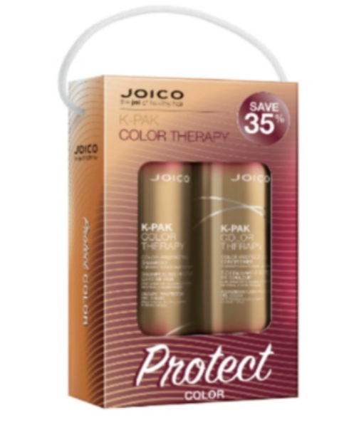 Primary image for Joico K-PAK Color Therapy Shampoo, Conditioner Liter Duo