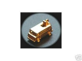 LOOK 1010 Mini Van Charm pendant 24kt Gold Plated over real sterling sil... - $14.94