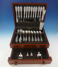 Grande Baroque by Wallace Sterling Silver Flatware Set 12 Service Dinner 53 Pcs - $3,900.00