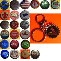 St. Louis Cardinals Baseball Coke Sprite Diet pepsi more Soda beer cap Keychain image 1