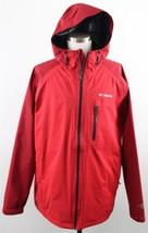 NEW Columbia Sector Reflector EXS Omni-Tech Hooded Rain Jacket MENS 2XL Red - $69.99
