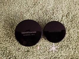 SET OF 2 Bare Minerals Finishing Powder 'FAIR-LIGHT'+bareMinerals Blush 'Malibu' - $24.75