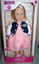 "Our Generation Retro TERRY 18"" Doll in Outfit  New - $45.05"