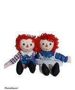 """RAGGEDY ANN and ANDY  16"""" SOFT PLUSH Toys 2002 - $38.56"""