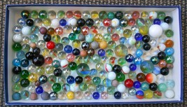 Marble Collection Lot of 198 Old Assorted Vintage Marbles - $19.99