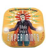 Nikola Tesla's Experimints Mints in Illustrated Tins Box of 12, NEW SEALED - $41.59