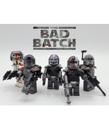 5pcs Star Wars Clone Force 99 (The Bad Batch) Hunter Tech Echo Omega Min... - $13.99
