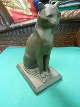 "Great EGYPTIAN CAT GODDESS Statue...9.75"" - $27.31"