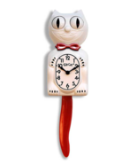 Candy Cane Red Limited Edition Kit-Cat Klock (15.5″ high) - $68.95