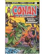 Conan the Barbarian Comic Book #60 Marvel Comics 1976 FINE+ - $3.75
