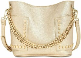 Steve Madden Raya Women's Chain Crossbody Bucket Hand Bag (Gold) - $67.32