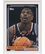 Patrick Ewing Signed Autographes Topps Basketball Card - New York Knicks - $49.99