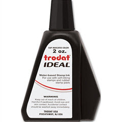 Re-inking fluid for Self-Inking Stamps - Black