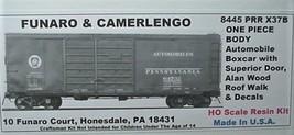 Funaro & Camerlengo HO PRR ONE PIECE BODY X37B Automobile boxcar Boxcar Kit 8445 image 1