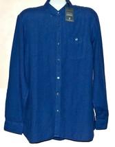 Todd Snyder Portuguese Linen By Somelos  Men's Blue Shirt Sz L $168 - $88.11