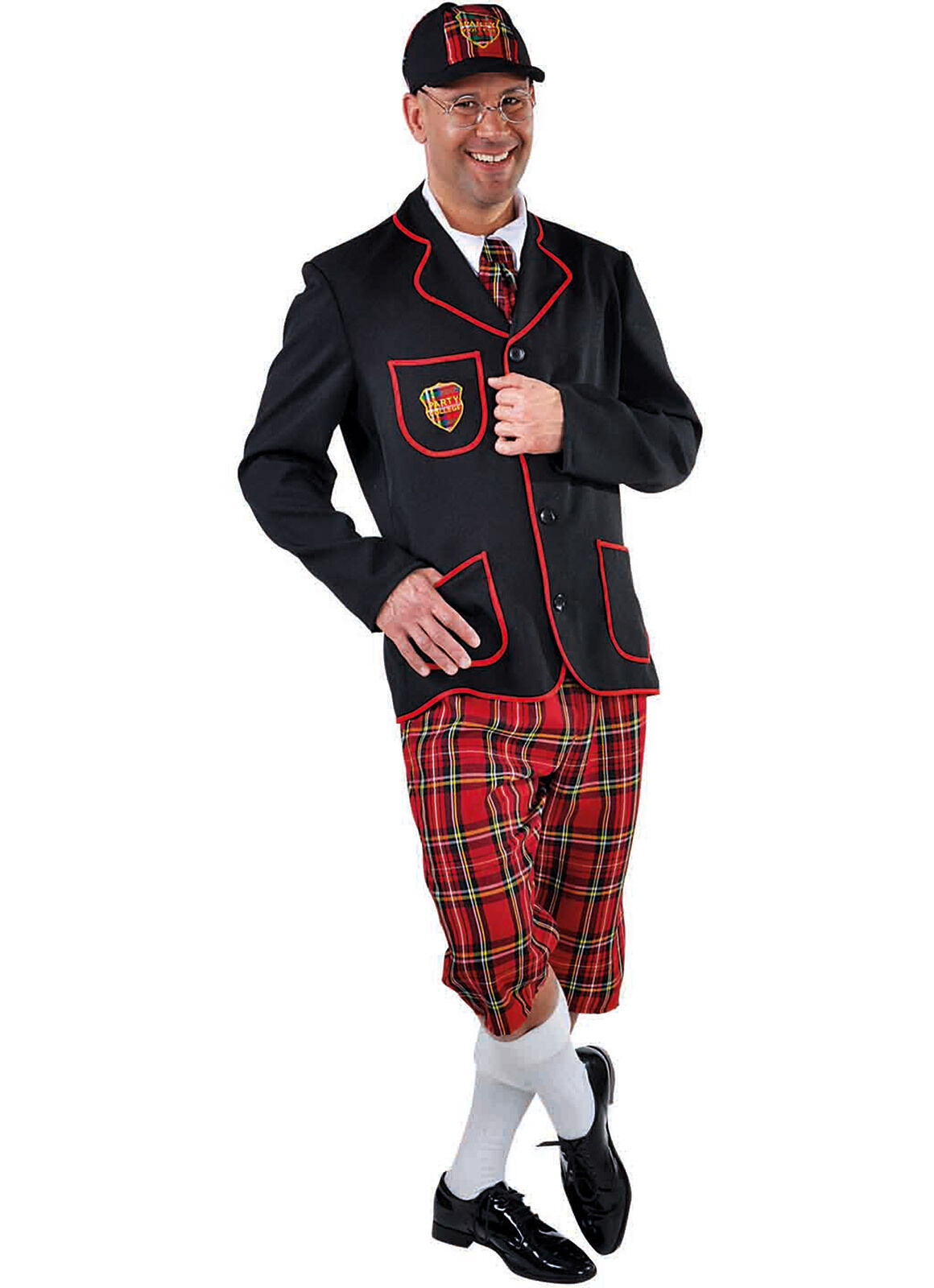 Back to School , Adult Schoolboy  Costume - XS - XXL