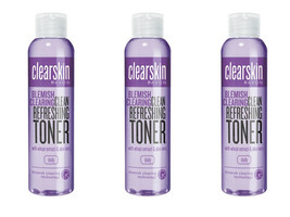 3 x Avon Clearskin Blemish Clearing Clean Refreshing Toner 100 ml New - $22.76