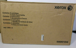 NEW SEALED XEROX Genuine Black Toner Cartridge 2 Pack 006R01046 6R01046 - $38.61