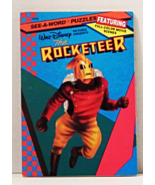 Disney Pictures presents The Rocketeer SEE-A-WORD PUZZLES Book 1991 Gold... - £5.54 GBP