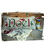 R-122 Noel Christmas chart + charms cross stitch chart Rovaris   - $12.00