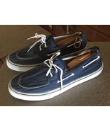 CARBON Mens Navy Blue Boat Shoes #161 - $19.66