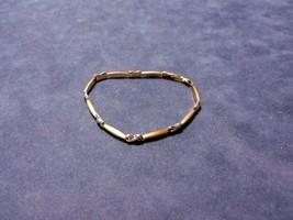 Vintage Estate Women's 10K Yellow Gold Bracelet, 2.84g E2057 - $115.00
