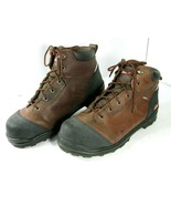 Mens Dickies Smart Step Waterproof Slip Resistant EH Work Boots Sz 14 St... - $39.99
