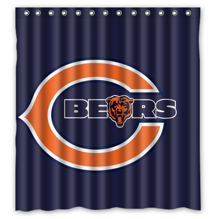 Chicago Bears 04 Shower Curtain Waterproof And 50 Similar Items Photekkso39