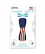 LoveHandle Cell Phone Grip American Wavy Flag Love Handle Sling USA Strap  - $12.86