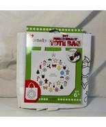 Paint Your Own Christmas Tote Bag DIY Create Basics Merry Christmas 13 1... - $5.93