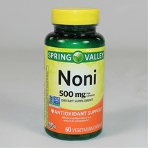 Spring Valley Noni Antioxidant Support 500 mg, 60 Capsules (Exp. 08/2022) - $12.73