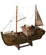 """Fishing Boat Model 12.5x4x11"""" - $54.82"""