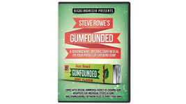 Gumfounded by Steve Rowe - A Gobsmacking, Organic Card Reveal on A Pack ... - $24.75