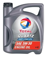 Total 188058-5QT Quartz INEO Long Life ACEA/API 5W-30 Engine Oil - 5 Quart - $49.06