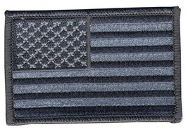 URBAN STYLE  AMERICAN FLAG   EMBROIDERED BIKER PATCH   iron on - $4.12