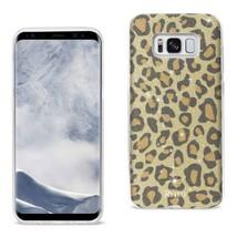 REIKO SAMSUNG GALAXY S8/ SM SHINE GLITTER SHIMMER LEOPARD  HYBRID CASE I... - $8.24