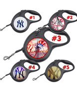 New York Yankees NY Retractable Dog Leash tangle free upto 110 lb pet le... - $22.30+