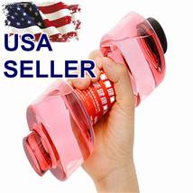 550ml Portable Dumbbell Yoga Water Bottle Leak-proof Cup Gym Fitness Gif... - $168,71 MXN