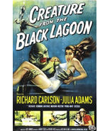 CREATURE FROM THE BLACK LAGOON - CLASSIC MOVIE POSTER 24x36 - 52827 - $17.00