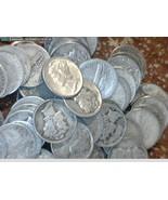 Mercury Silver Dimes $5 Dollar Face Value Bag 90% U.S. Silver Coins - $110.00