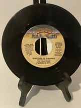 Four Tops – When She Was My Girl / Something To Remember- 45rpm vinyl ... - $2.50