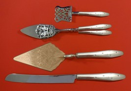 Dawn Star by Wallace Sterling Silver Dessert Serving Set 4pc Custom Made - $299.00