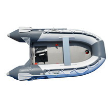 BRIS 8.2 ft Inflatable Boat Pontoon Dinghy Raft Boat With Air-deck Floor image 1