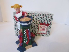 DEPT 56 93092 FIGURINE MADELINE MAKING COOKIES ALL THROUGH THE HOUSE 6.2... - $14.80