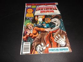 Marvel Classics Comics # 25: The Invisible Man by H.G. Wells * NM/MINT *... - $8.00